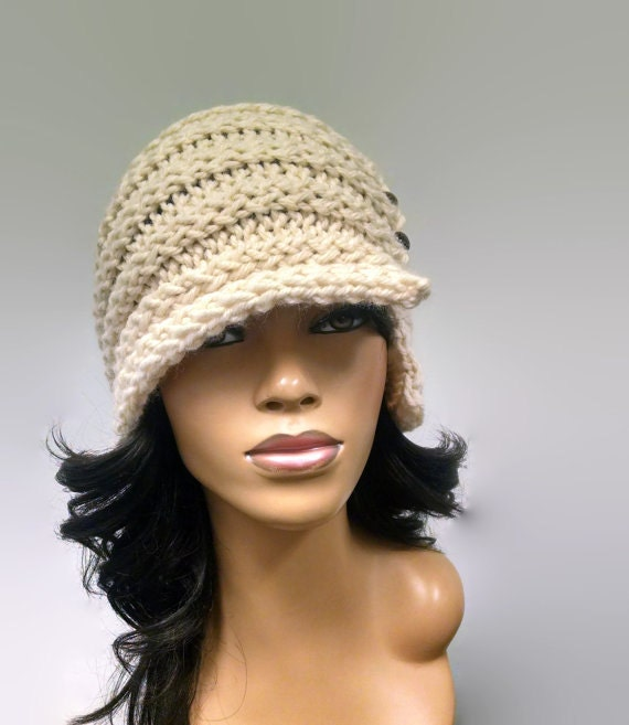 Instant Download PATTERN ONLY Easy Loom Knit Cloche / Flapper