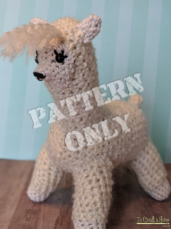 Crochet Layla the Llama PDF Pattern-Crochet Pattern-Crochet Llama ...