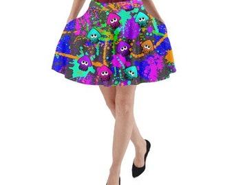 Splatoon themed pocket skirt