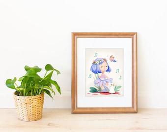 Dance Fairy Art Print