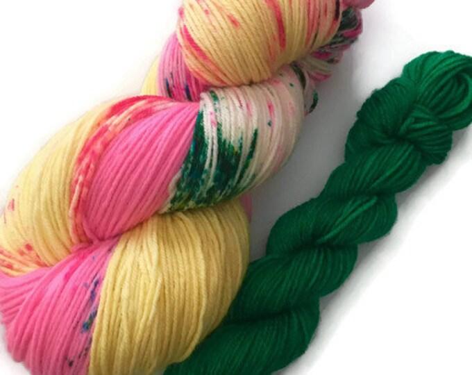 Fingering Merino Nylon Superwash extra fine wool dyed by hand Fingering