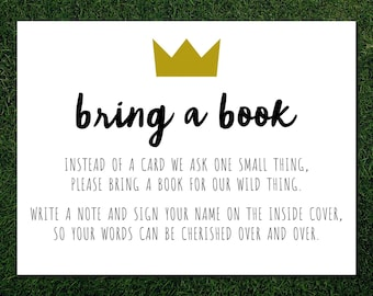Where the Wild Things Are - Bring a Book Cards