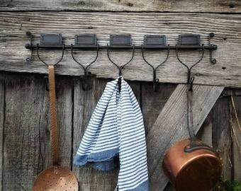 Barnhouse Wall Hook, Coat Rack, Coat Hook, Towel Holder, Bathroom Hook