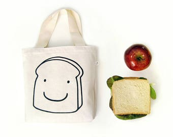 Reusable sandwich bag canvas Lunch bag for kids School canvas bag Preschool busy bag Kids snack bags Canvas bag for kids by Olula Girls