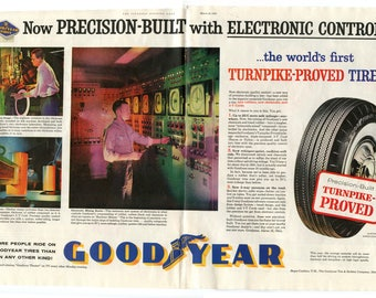 Goodyear Tire Ad from 1960 (PO-60-138ab)