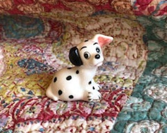 101 Dalmatians Ceramic Figurine Walt Disney Productions Japan