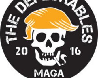 the deplorables Bumper Sticker