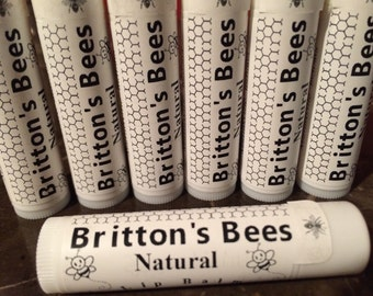 Britton's Bees Natural Lip Balm