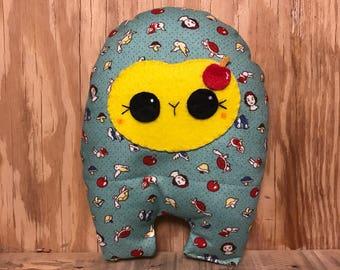 Snow White Huggle | Cute Monster Plush, Cute Stuffed Toy, Stuffed Animal, Handmade Plush Toy