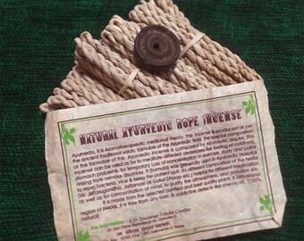 Natural Ayurvedic Rope Incense(Dhupaiya)..