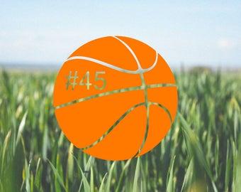 Basketball Decal
