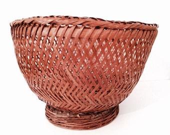 Braided flowerpot | Wicker flowerpot | Rattan flowerpot | Planter