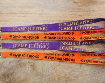 GEEKY FANDOM LANYARDS!  Camp Half-Blood or Camp Jupiter - whose side are you on??