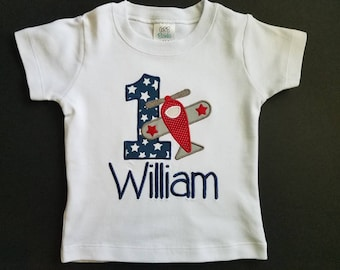 Personalized Boy First Birthday Shirt, Custom 1st Birthday Shirt, Personal Toddler Boy Shirt