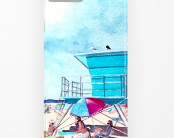LIFEGUARD STATION Cover iPHONE & Galaxy - 2 Styles
