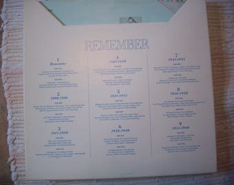 Records - Readers Digest 1972 - Remember - Set of 9