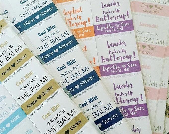 Custom Lip Balms Labels - Just Labels
