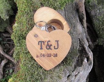 Rustic Ring Holder | Rustic Ring Box | Rustic Wedding Ring Box | Rustic Ring Bearer Box | Rustic Wedding Ideas