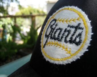 San Francisco Giants Ball Cap with 1950's Era Vintage Felt Patch
