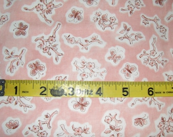 100% Cotton Fabric BTY - Ollie & Me Floral