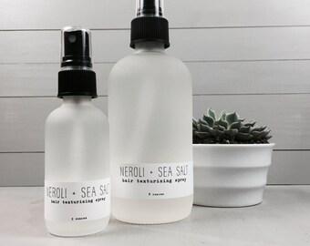 Neroli + Sea Salt - Hair Texturizing Spray - 2 ounces