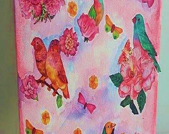 enchanting bird paintings