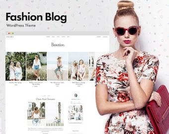 Beaution - The Fashion Blog WordPress Theme