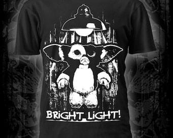 Gremlins t-shirt, film,dvd, heavy metal, punk, goth,