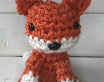Small fox crochet.
