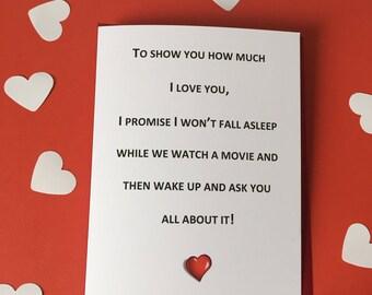 Humorous Anniversary Card | Funny anniversary card | Anniversary card for him | Anniversary card for husband | Funny Wedding Card