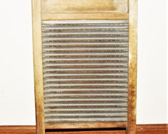 Antique Wash Board Old Farm House Find Federal Washboad Company Perfect Rustic Home Decor Log Home Decor