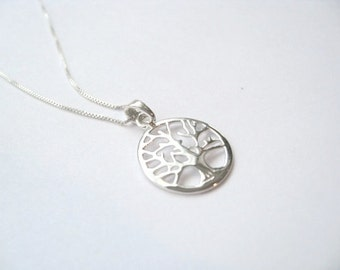 Tree of Life Necklace- Sterling Silver*