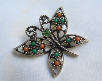 Sarah Coventry Butterfly Brooch or Pin
