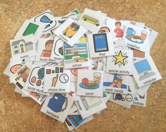 PEC Symbols 75 visual aid boardmaker symbols communication aid autism special education behavior aid