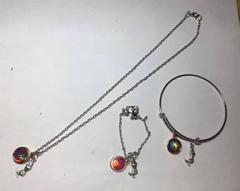 Mermaid Scale jewelry collection