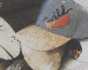 Herringbone Antler Hat