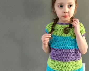 PATTERN Natalie Tee Crochet Shirt Top