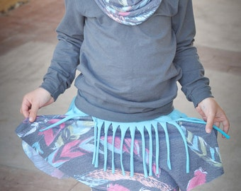 Sporty Skorty Leggings and Skirt PDF Pattern with Free Tutorials!