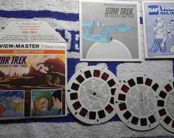 Star Trek View-Master slide set of 3 slides by GAF in great condition - Mr Spock's Time Trek