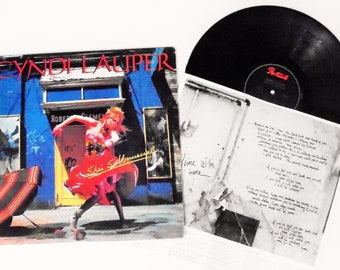 Cyndi Lauper Vintage LP: She's So Unusual Vinyl Record Album (1983, Portrait) Pop Rock