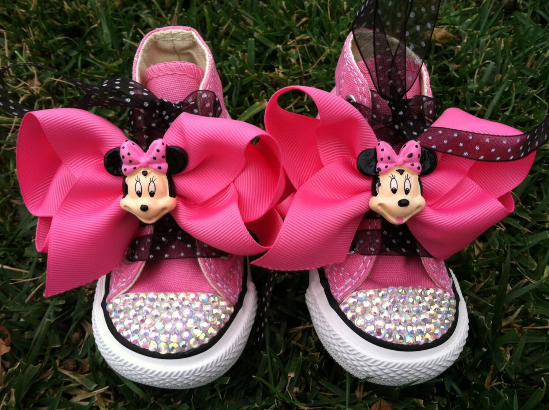 Swarovski Baby Shoes Pink