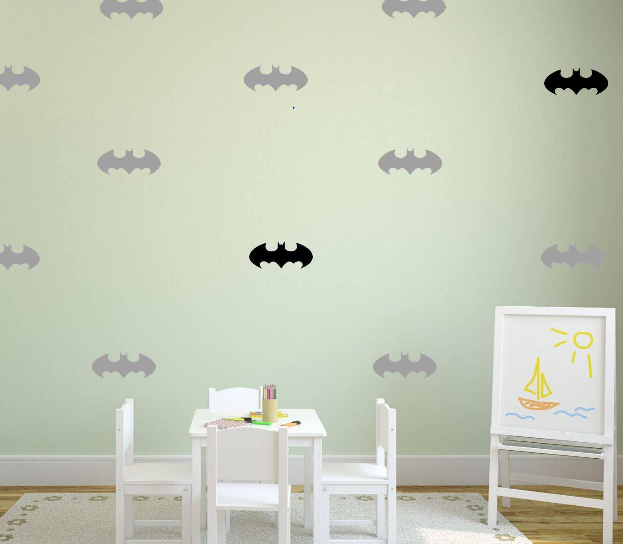 Batman Symbol Superhero Kids Wall Decal Kids Wall Sticker