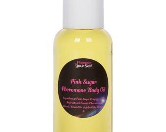 Pink Sugar Women Pheromone Perfume Body Oil, 2.7 Fl Oz