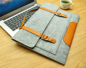 Felt 12 inch Macbook sleeve, New Macbook 12 case, Macbook 12 sleeve, macbook sleeve, macbook air case, laptop sleeve, laptop case