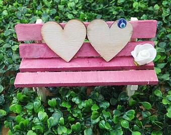 Miniature furniture bench fairy furniture garden bench dollhouse furniture fairy garden bench fairy bench miniature bench miniature garden