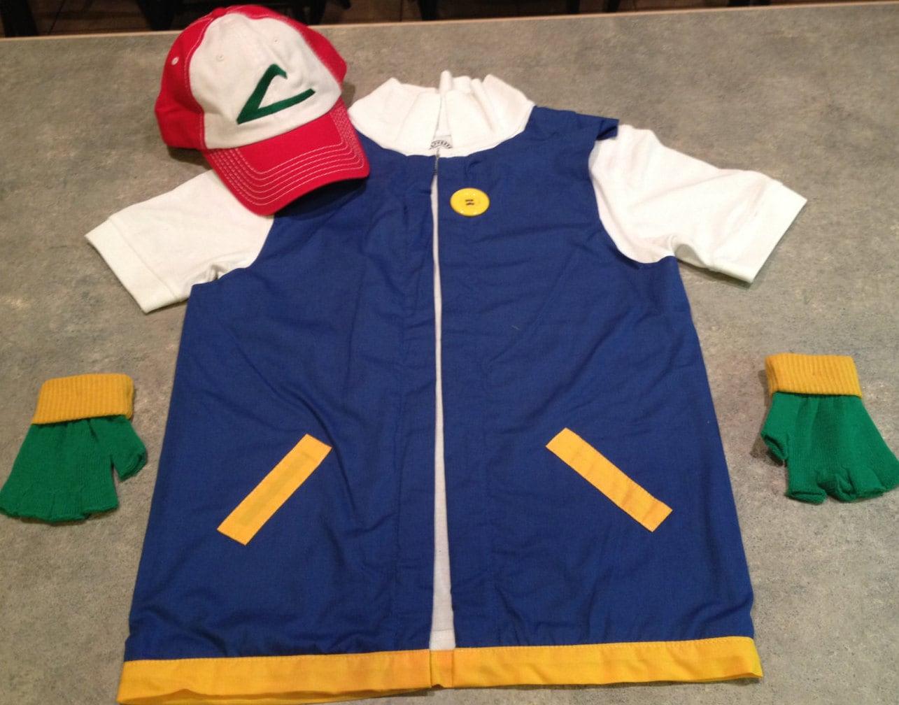 Boys pokemon trainer ash ketchum costume cosplay zoom solutioingenieria Image collections