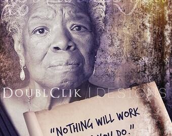 Maya Angelou Poster