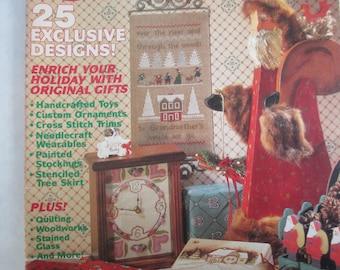 "Vintage 1989 issue ""Craftworks"" back issue  used magazine November 1989"