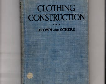 Clothing construction, Brown and Others, hardback book