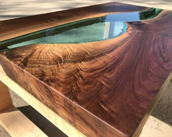 River Coffee Table Etsy